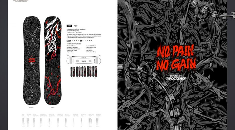 NO PAIN NO GAIN 2.0! 【IS SNOWBOARDS】